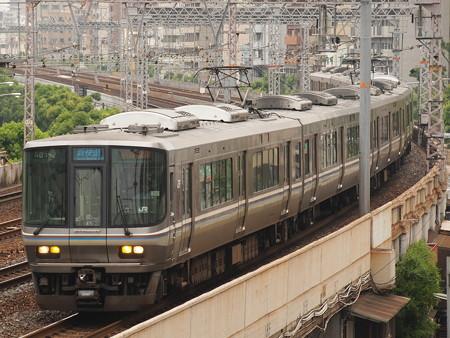 223系新快速  東海道本線神戸~元町02
