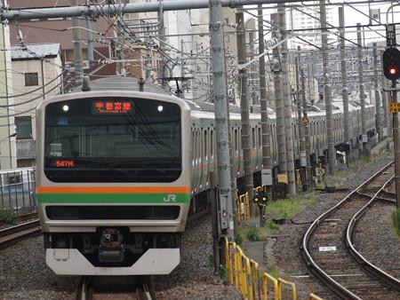 E231系普通東北本線尾久駅01