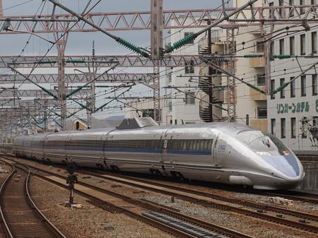 500系こだま  山陽新幹線西明石駅01