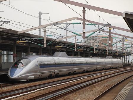 500系こだま  山陽新幹線西明石駅03