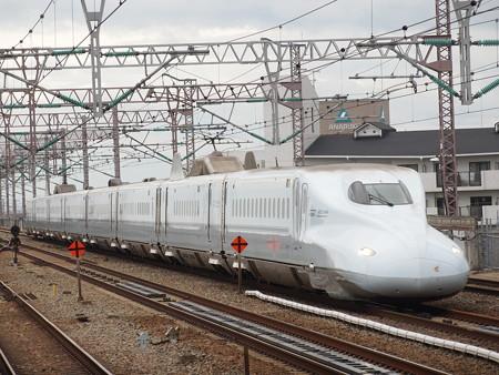 N700系さくら 山陽新幹線西明石駅02
