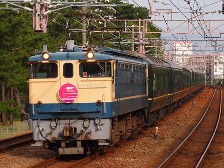 EF65 寝台特急トワイライトエクスプレス 山陽本線舞子駅