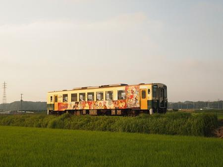 ひたちなか海浜鉄道キハ3710 湊線中根~高田の鉄橋02