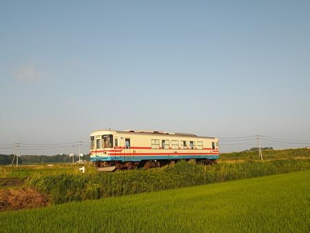 ひたちなか海浜鉄道ミキ300 湊線中根~高田の鉄橋02