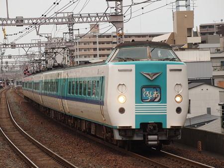 381系特急くろしお 大阪環状線野田駅