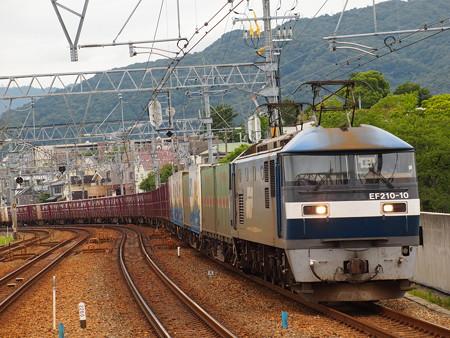 EF210貨物 東海道本線さくら夙川駅01