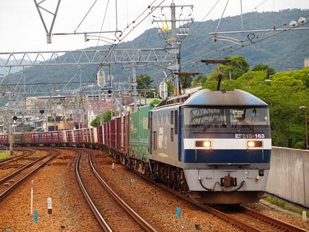 EF210貨物 東海道本線さくら夙川駅04