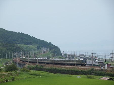 223系新快速 湖西線近江高島~北小松03