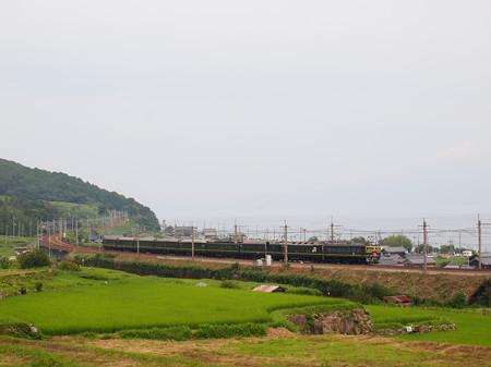 EF81 トワイライトエクスプレス 湖西線北小松~近江高島02