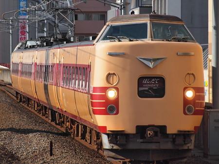 381系特急はしだて 山陰本線二条駅01