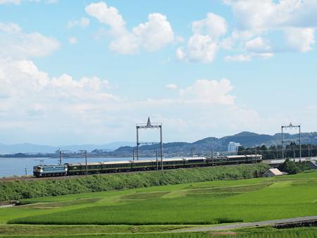 EF65 寝台特急トワイライトエクスプレス 湖西線蓬莱~志賀