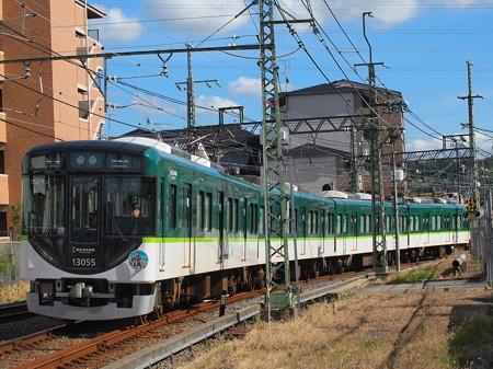 京阪13000系普通  京阪宇治線宇治~三室戸02