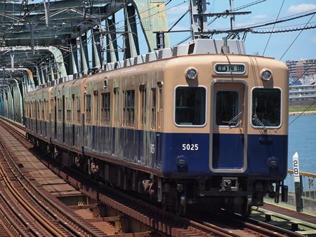 阪神5001形普通   阪神本線淀川駅03