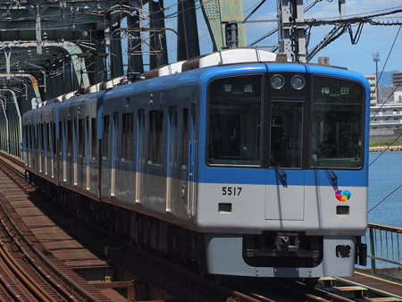 阪神5500系普通   阪神本線淀川駅01