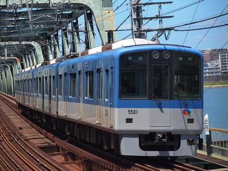 阪神5500系普通   阪神本線淀川駅03