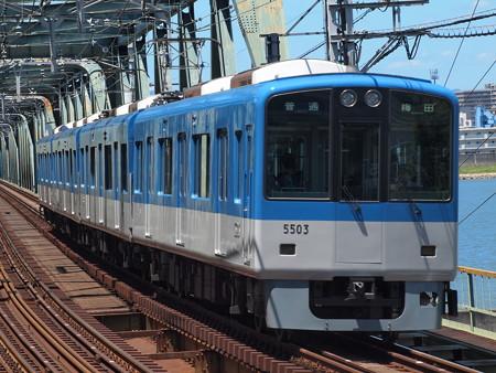 阪神5500系普通   阪神本線淀川駅04
