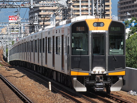 阪神1000系急行    阪神本線大物駅02