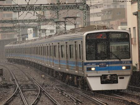 北総7300形エアポート急行 京急本線平和島駅