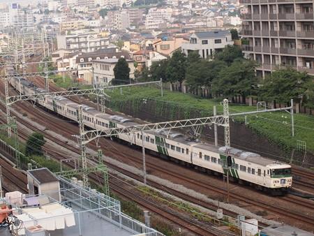 185系湘南ライナー 東海道本線横浜~川崎