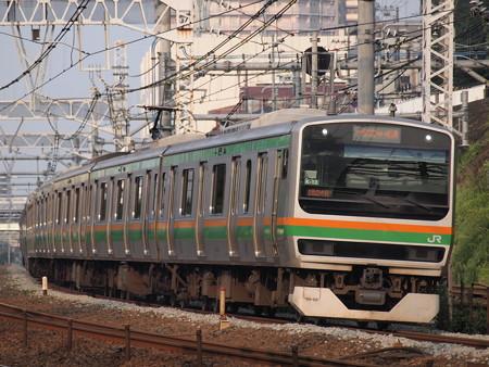 E231系普通 東海道本線新子安~鶴見02