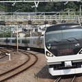 E257系特急かいじ 中央本線相模湖駅