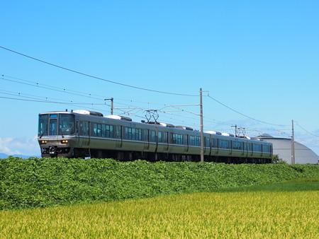 223系新快速 北陸本線坂田~田村