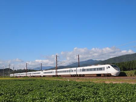 681系特急しらさぎ北陸本線河毛~虎姫01
