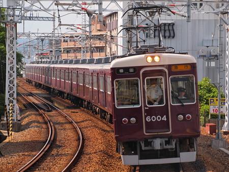 阪急6000系急行 阪急宝塚線石橋駅