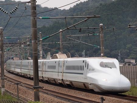 N700系さくら 山陽新幹線岡山~相生