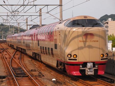 285系回送 予讃線坂出駅