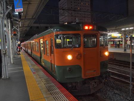115系普通 山陽本線岡山駅01