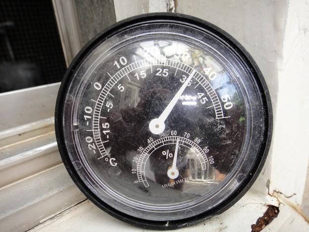 36度 1時の気温