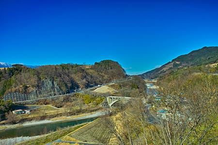 中川村より望む天竜川(SDIM0667)