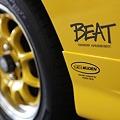 写真: HONDA BEAT ロゴ