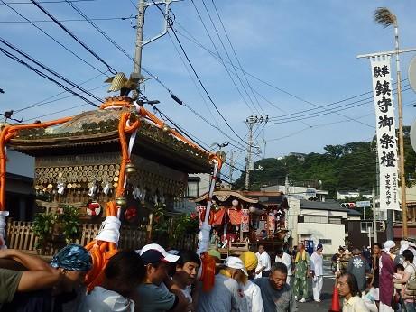 逗子市小坪の祭り