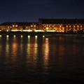 写真: 赤レンガ倉庫夜景1