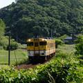 山陰線 キハ40系のローカル列車