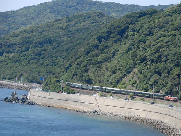 宇賀本郷俯瞰からの特別なトワイライトExp
