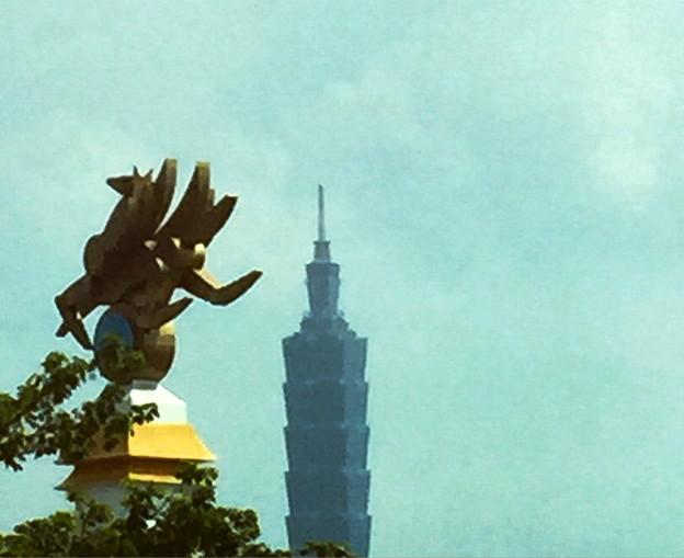 ただいま、台北101