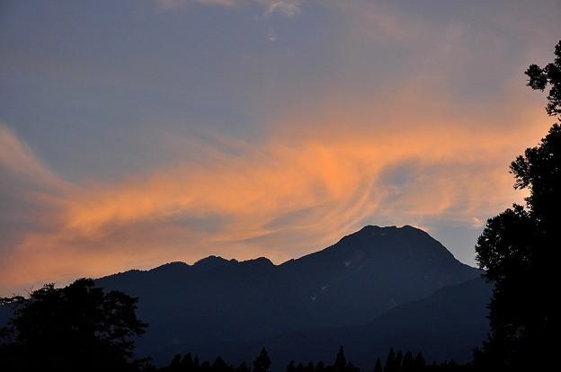フェーンの妙高山