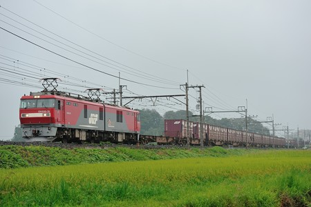 EH500-74牽引東北本線高速貨物