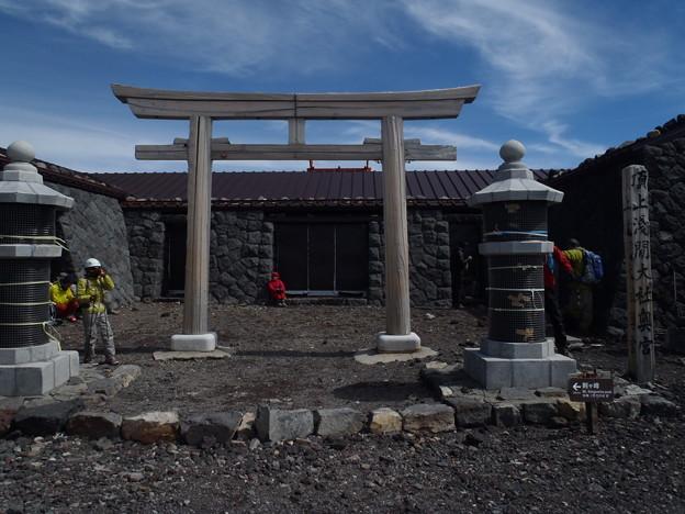 富士山 御殿場ルート?