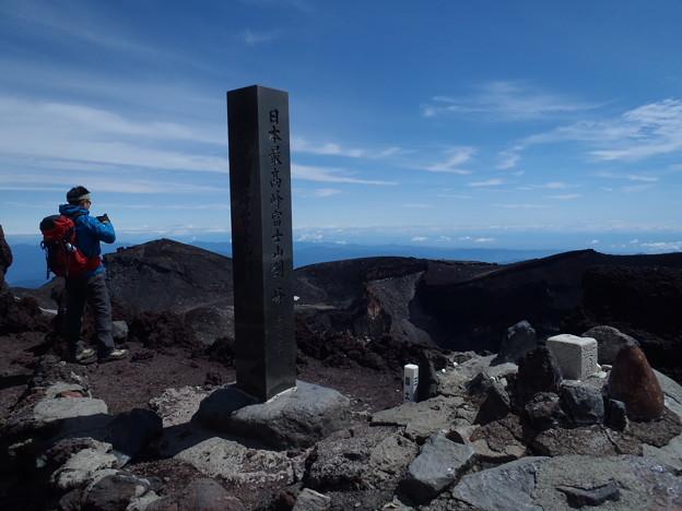 富士山 山頂 2015/06