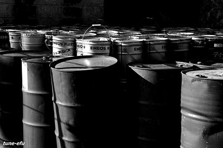 対馬にて・・ドラム缶