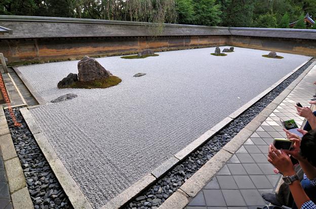 京都-龍安寺 方丈庭園