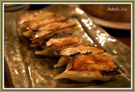 焼き餃子(にんにく入り)