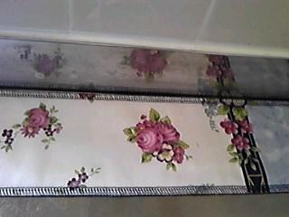 余り布で台所の敷物_05
