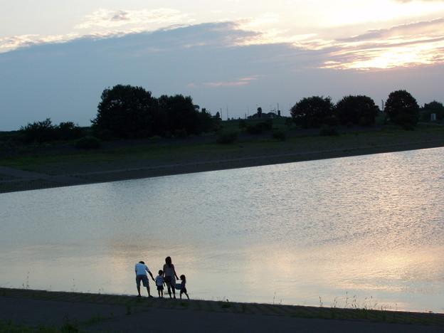 Photos: 遊水地での散歩