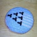 今日は千歳基地航空祭!なのでブルーインパルスを刺繍してみた
