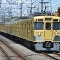 Photos: 西武新宿線2000系 クモハ2401形0番台車他8両編成